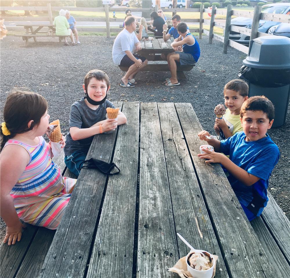 Piano Camp Ice Cream Party TN